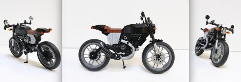 Lego Ducati Scrambler Cafe Racer