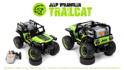 Lego Jeep Wrangler Trailcat