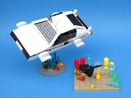 Lego Lotus Esprit Submarine James Bond