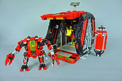 Lego M-Tron Mech Pod
