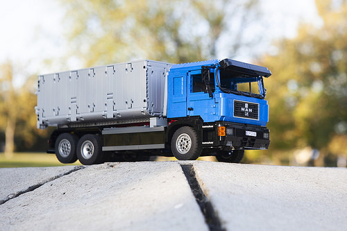 Lego MAN Container Truck