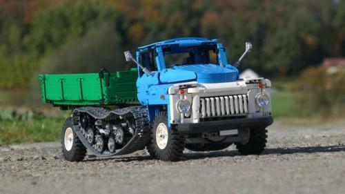 Lego Technic Soviet Truck