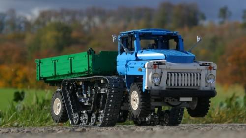 Lego Technic GAZ 53 Truck