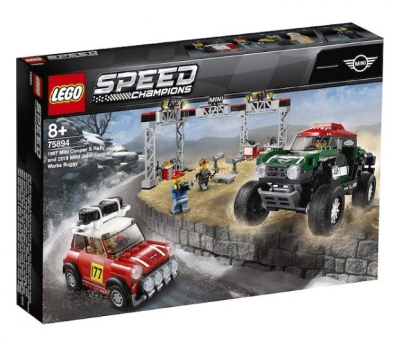 LEGO 75894 Speed Champions Mini Cooper-S Rally & John Cooper Works Buggy