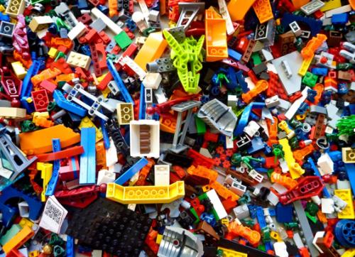 Lego Stock Image