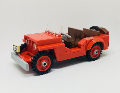 Lego Tin Tin Jeep