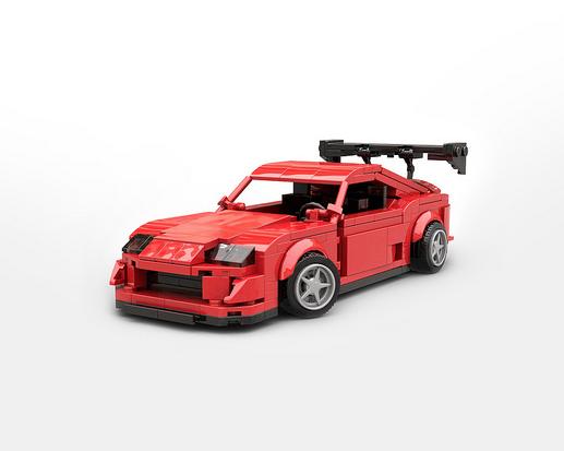 Lego Toyota Supra