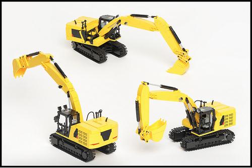Lego Caterpillar Excavator