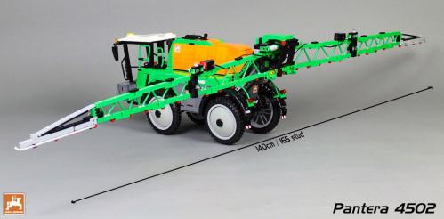 Lego Amazone Pantera 4502 Crop Sprayer RC