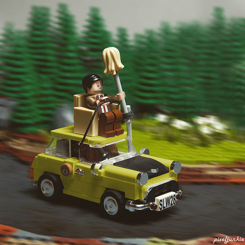 Lego Mr. Bean Mini