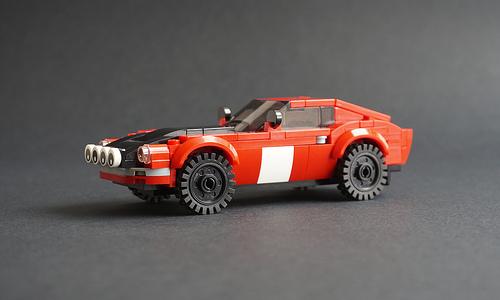 Lego Datsun 240Z Safari Rally