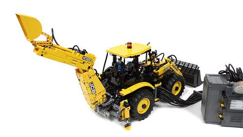 Lego Technic JCB 5CX Remote Control