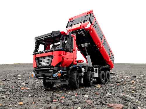 Lego Technic RC Tipper Truck