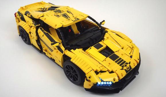Lego Technic Rezvani Beast Alpha