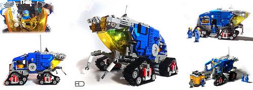 Lego Classic Space Lunar Rover