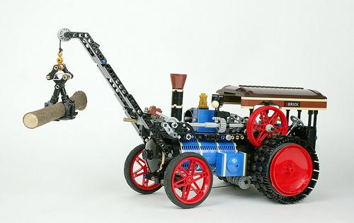 Lego Traction Engine