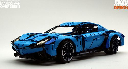 lego technic silvestros supercar the lego car blog. Black Bedroom Furniture Sets. Home Design Ideas