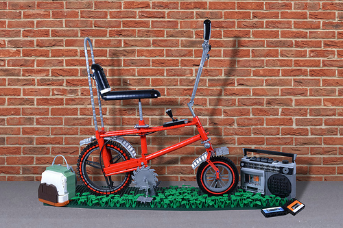Lego Raleigh Chopper Bike