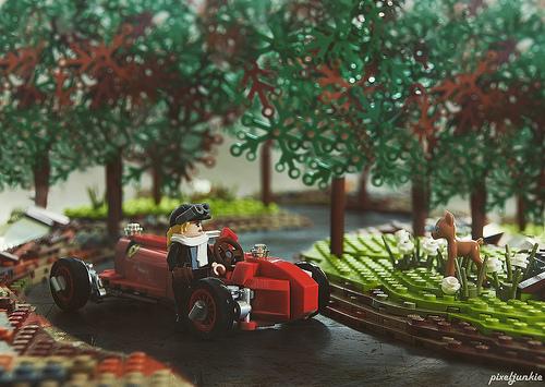 Lego Alfa Romeo P3