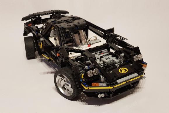 Lego Technic 8880 Redux