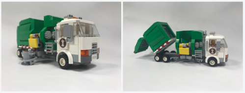 Lego Town Garbage Truck