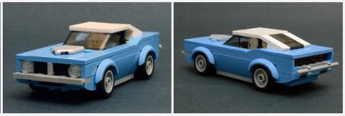 Lego Plymouth Hemi Cuda
