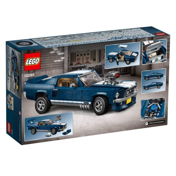 10265 lego creator ford mustang review the lego car blog. Black Bedroom Furniture Sets. Home Design Ideas