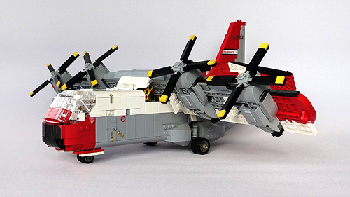 Lego Ling-Temco-Vought (LTV) XC-142