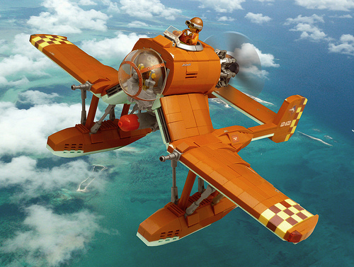 Lego Sky-Fi Swordfish