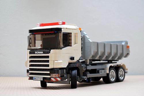 Lego Scania Tipper Truck