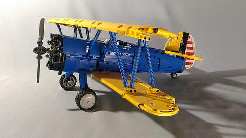 Lego Technic Boeing Stearman Kaydet PT-17