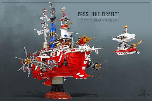 Lego Sky-Fi Firefly Ship