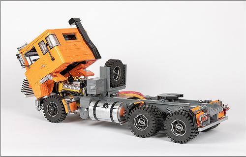 Lego Scania LK141 Truck