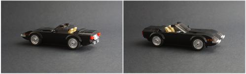 Lego Ferrari Daytona Miami Vice