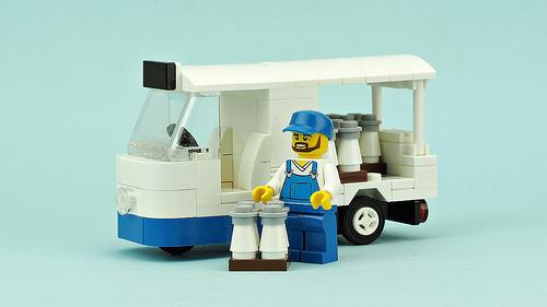 Lego Milk Float
