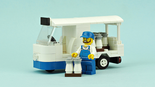 Lego Milk Float