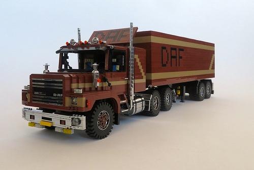 Lego DAF NTT 2800 Truck