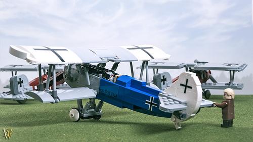 Lego Fokker D.VII