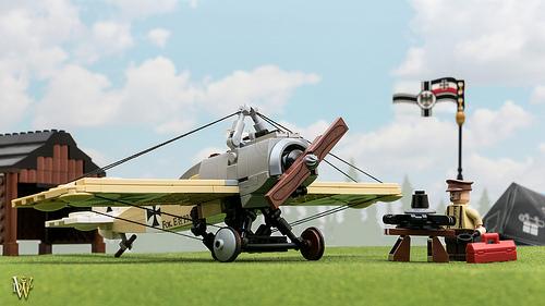 Lego Fokker Eindecker