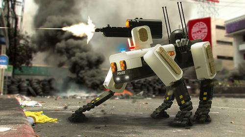 Lego Police Mech