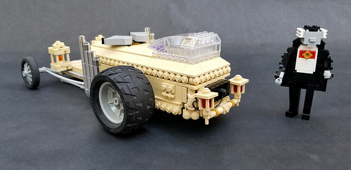 Lego Munsters Dragula Hot Rod