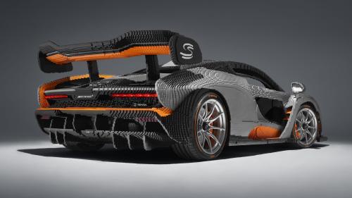Lego McLaren Senna Life-Size