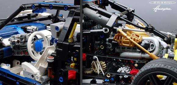 Lego Technic Pagani Supercar