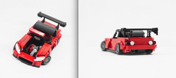 Lego Honda S2000 Amuse