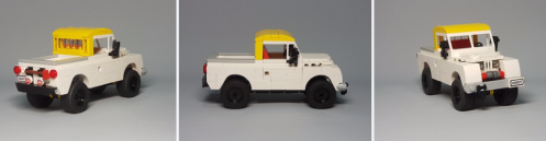 Lego Land Rover Series 2A Pick-Up