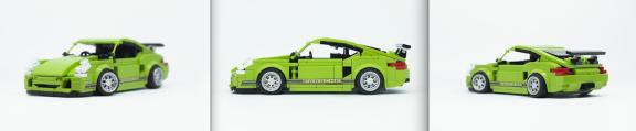 Lego Porsche Cayman R
