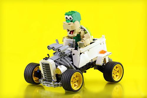 Lego Hot Rod Tortoise